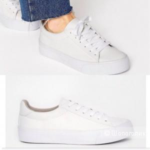 Мои белоснежные кроссы!