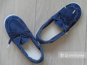 Новые джинсовые топсайдеры Cienta (Испания) 31 европ.размер