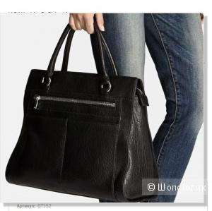Кожаная сумка Karen Millen