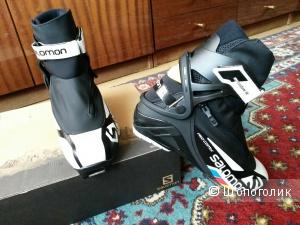 Пристрою практически новые ботинки для беговых лыж Salomon PRO COMBI PILOT