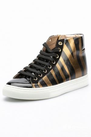 Высокие кроссовки  DIBRERA BY PAOLO ZANOLI 37-38 размер новые
