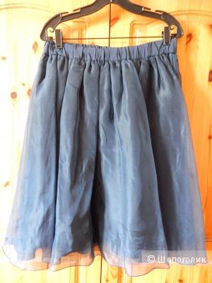 Нарядная шелковая юбка MAX&Co р.IT44 на росс.46