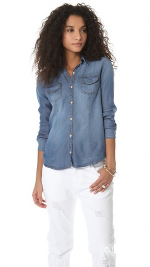 Джинсовая рубашка американского бренда Splendid, р.L