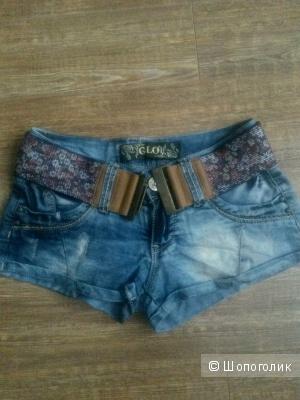 Крутые джинсовые шортики Турция