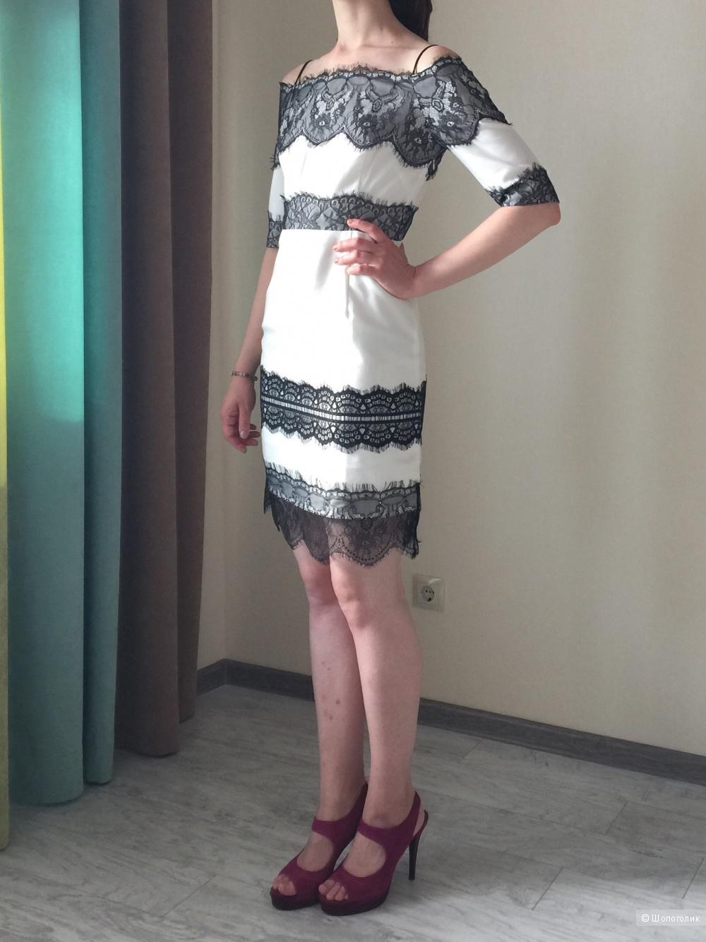 Шикарное платье английского бренда во французском стиле