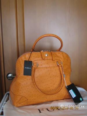 Новая кожаная сумка Furla