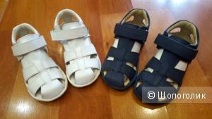 Детские кожаные сандалии Umi 25 размер