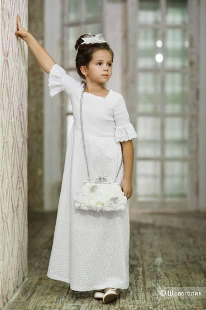 Летнее платье для девочки De Salitto Pinetti Италия р.150 12-13 лет