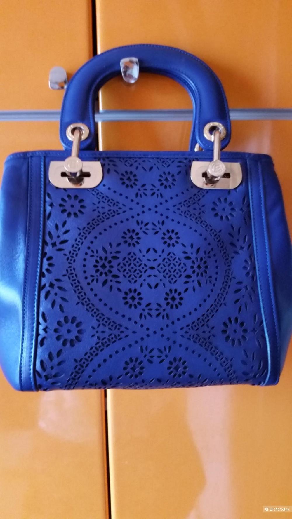 Сумочка Baldinini, ярко-синего цвета
