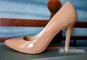 Лаковые туфли Avante Moda цвета nude (37-37,5)