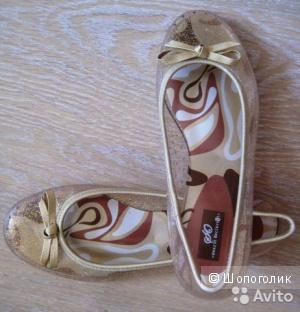 Новые силиконовые балетки