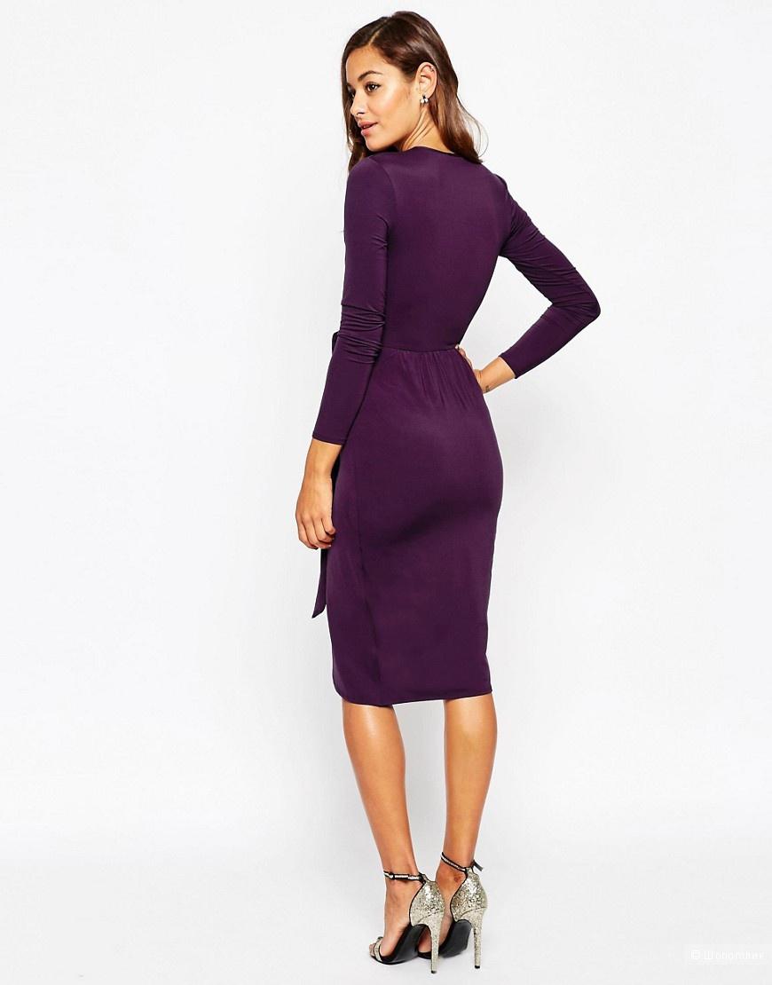 Пристрою новое вечернее платье фиолетового цвета фирмы Asos
