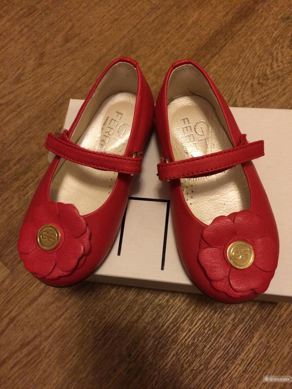 Новые туфельки GF Ferre, 22 размер