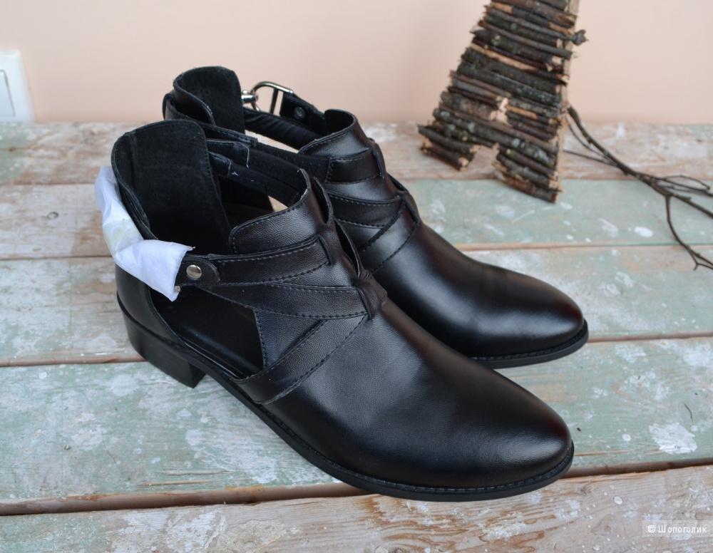 Asos женские кожаные ботинки 7uk