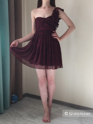 Легкое Платье-корсет Mango