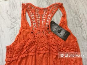Сарафан из легкого жатого текстиля от французского бренда Lauren Vidal