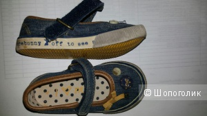 Джинсовые туфельки Next (РАЗМЕР 21-22)