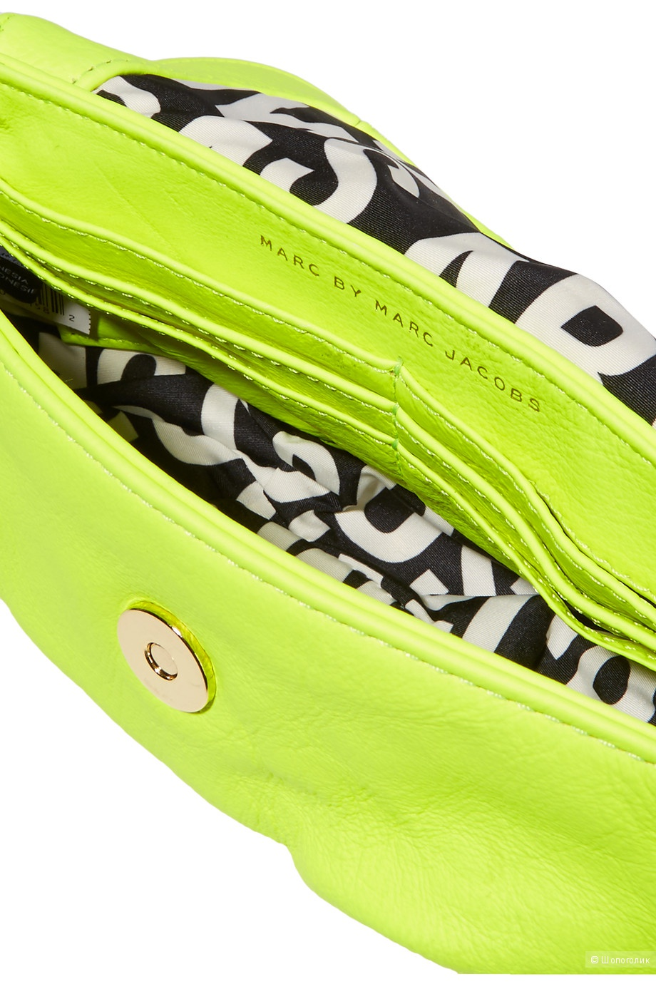 Неоновая маленькая сумочка  Marc by Marc Jacobs, оригинал.