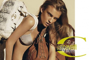 сумка из рекламы ROBERTO CAVALLI новая.оригинал