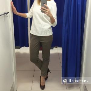 Укорочённые брюки Zara