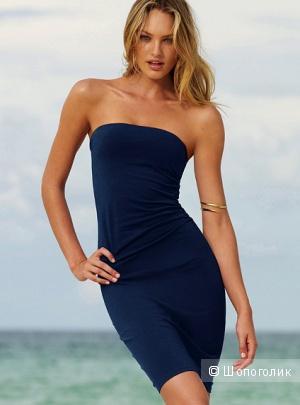 Платье Victoria's Secret Ruched Strapless Bra Top Dress