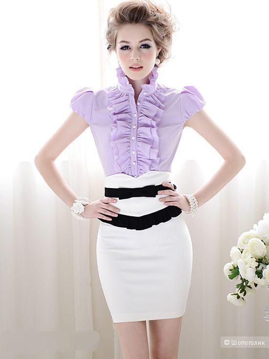 Безумно красивая белая юбочка
