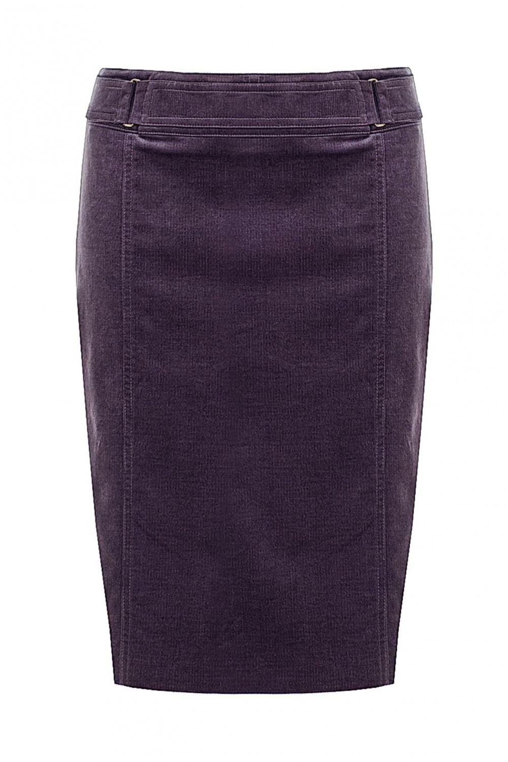 Юбка Gucci сливового цвета вельветовая размер 40 на 42 российский