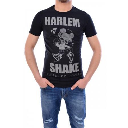 Philipp Plein Harlem Shake, L, футболка-стрейч унисекс.