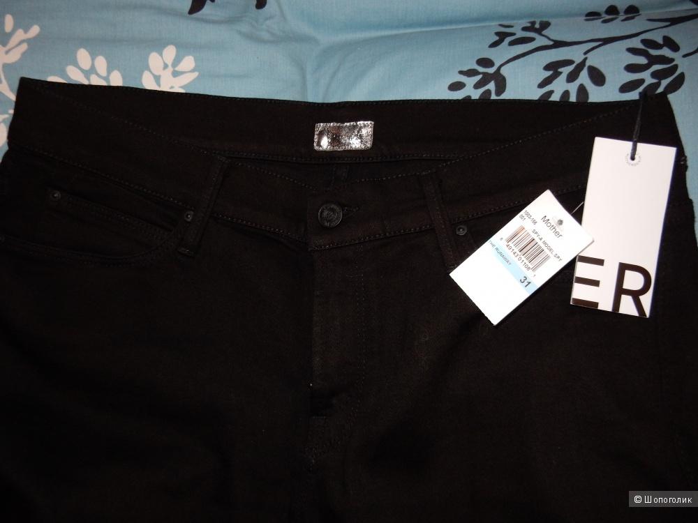 Новые черные джинсы MOTHER размер 31