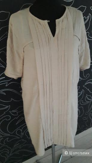 Massimo Dutti: хлопковое платье-рубашка