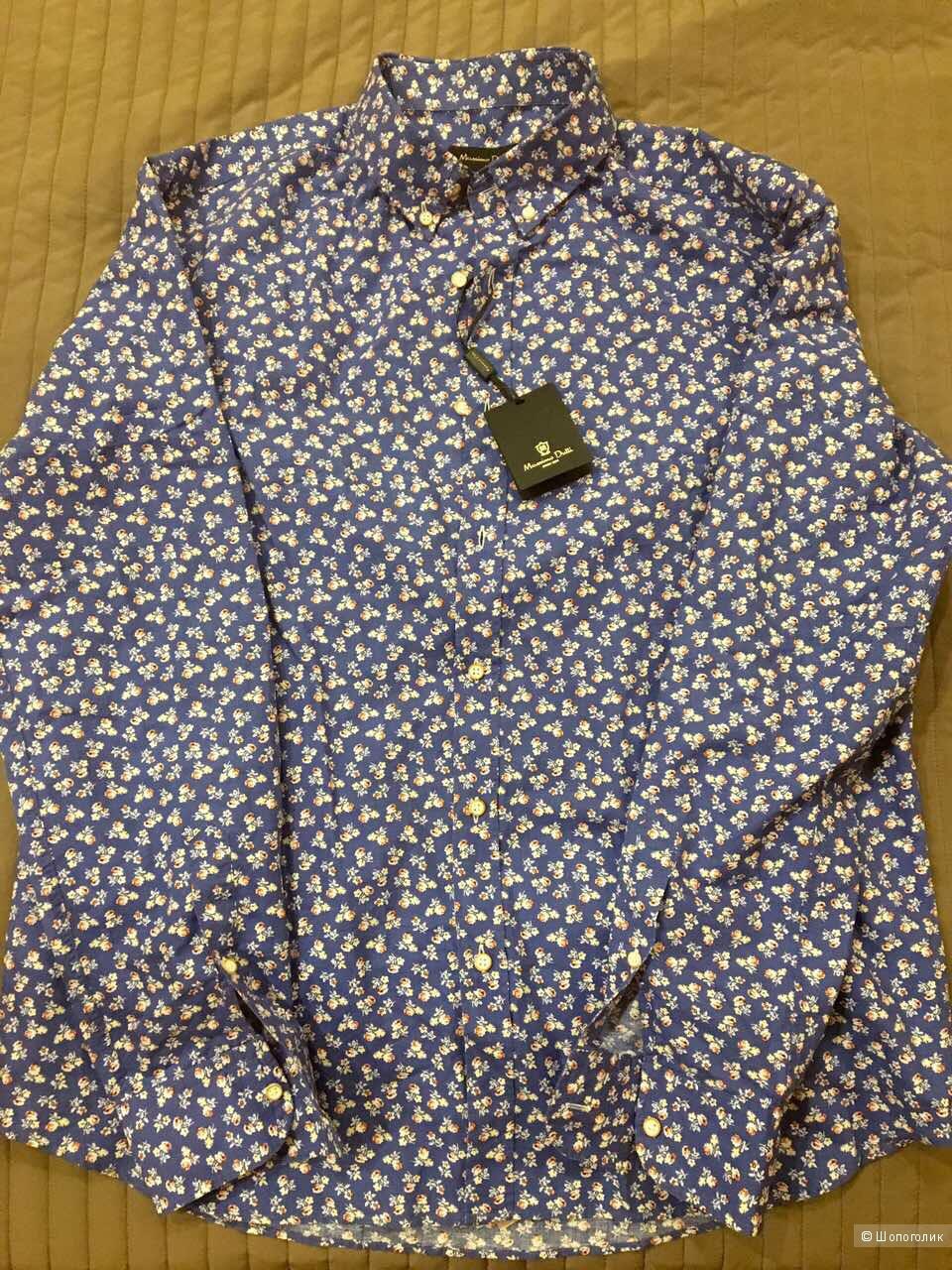 Мужская сорочка Massimo Dutti XL