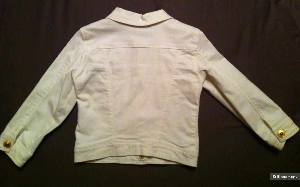 Стильная джинсовая курточка Zara baby. 36 мес