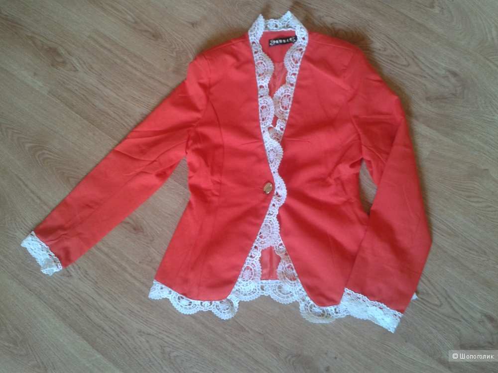 Новый оранжевый пиджак