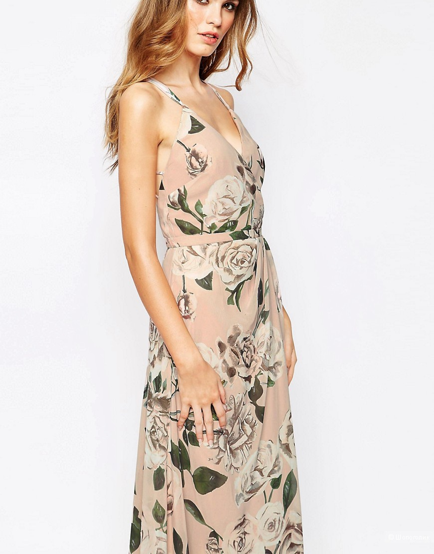 Потрясающей красоты  платье Fame and Partners