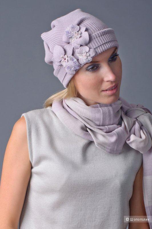 Шапочка из 100%-шерсть мериноса дизайнера ELENA KONAREVA