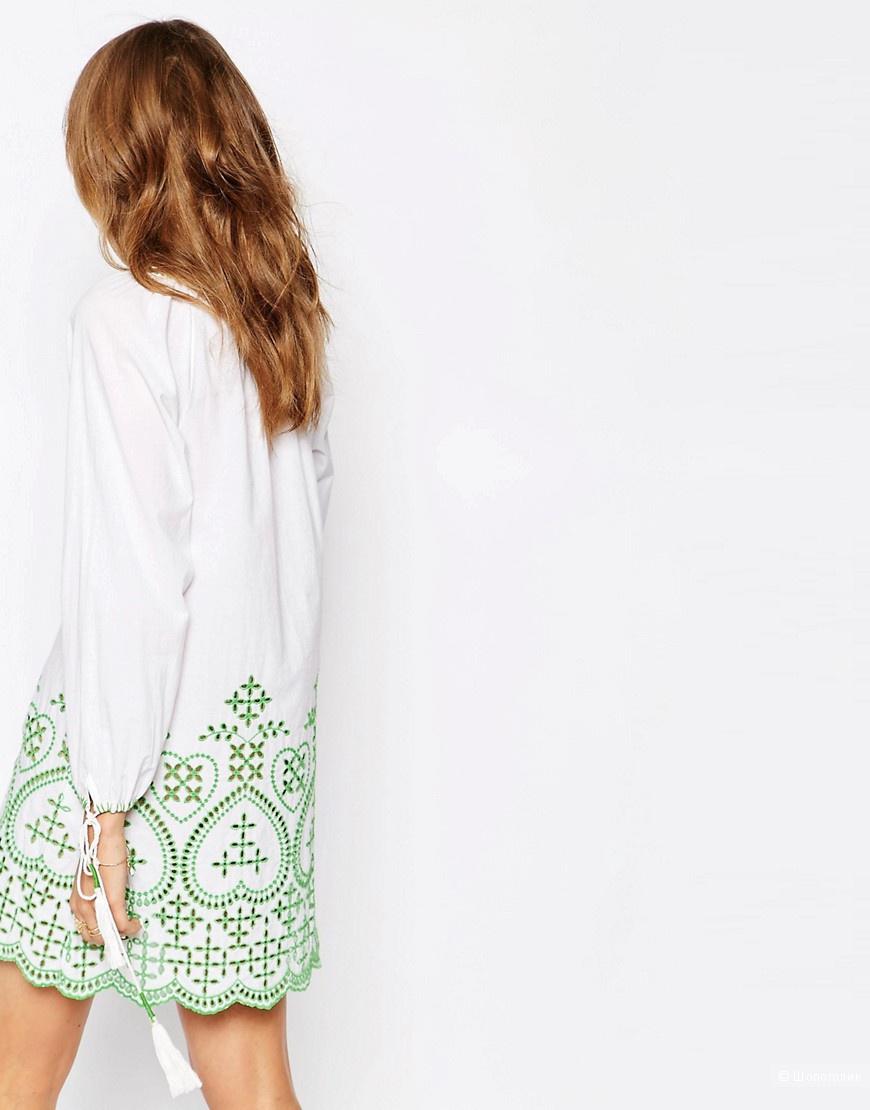 Платье с вышивкой Christophe Sauvat Colombe