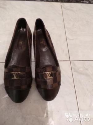 Louis Vuitton балетки, 37 размера