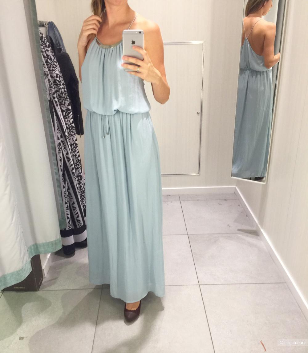 Длинное платье Zara, на размер S-M