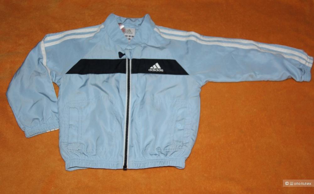 Спортивный костюм на мальчика Adidas (оригинал) (размер UK 1-2 года)