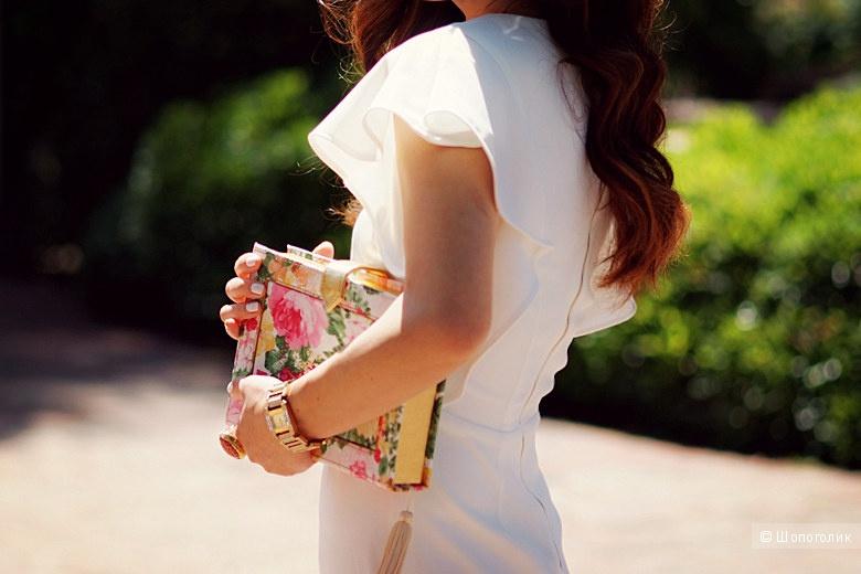 Платье-футляр с рукавами-фонариками ASOS