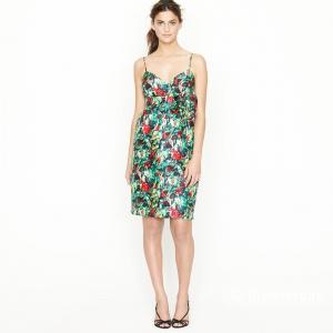 Продам шелковое платье J Crew