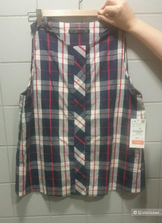 Блузка хлопковая Zara L