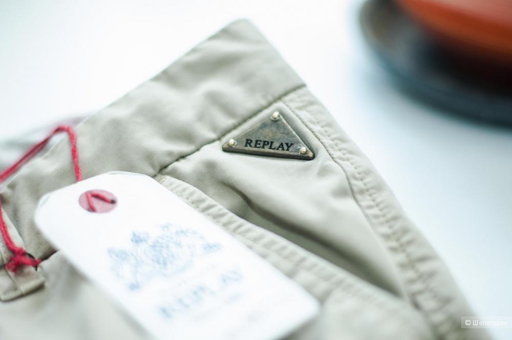 Новые брюки чинос Replay, размер 28