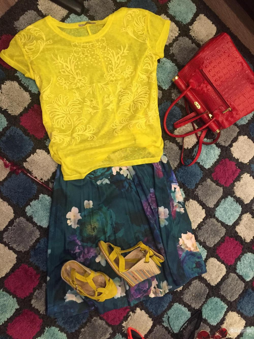 Новый лук: юбка+майка
