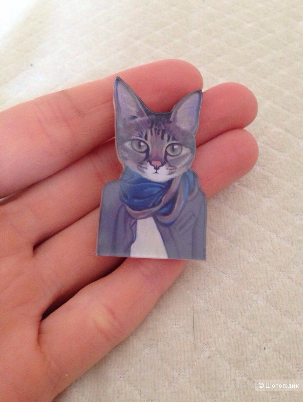 Новые значки-брошки котята