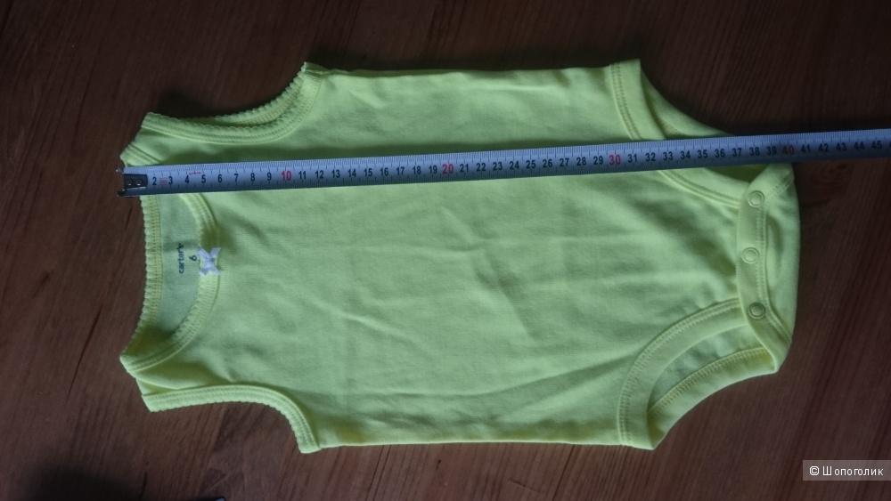 Костюмчик Carter`s для малышки или малыша до и на 6мес хлопок 100%