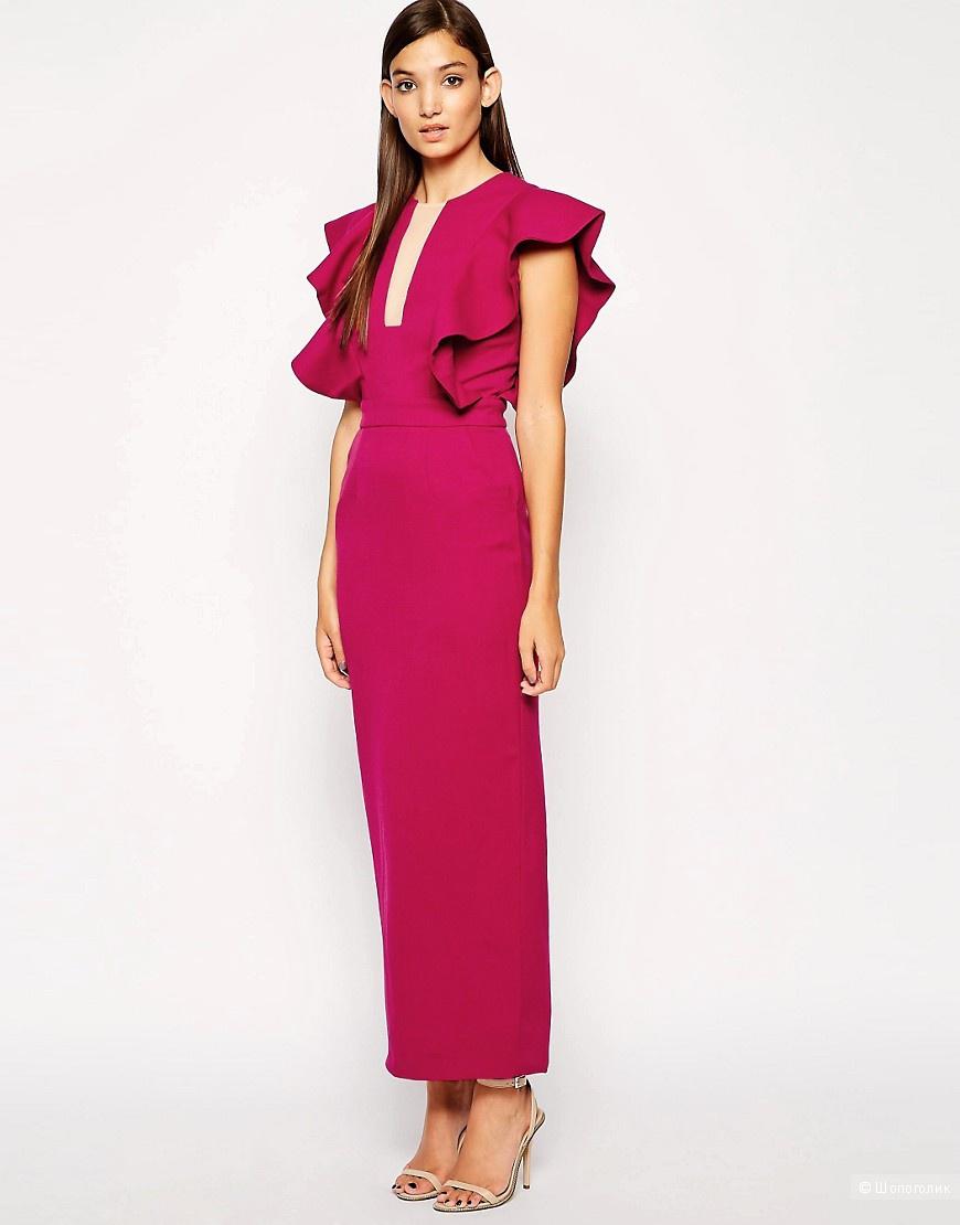Шикарное Платье с крылышками Three Floor