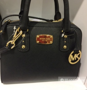 Малютка Michael Michael Kors Saffiano mini Satchel Leather