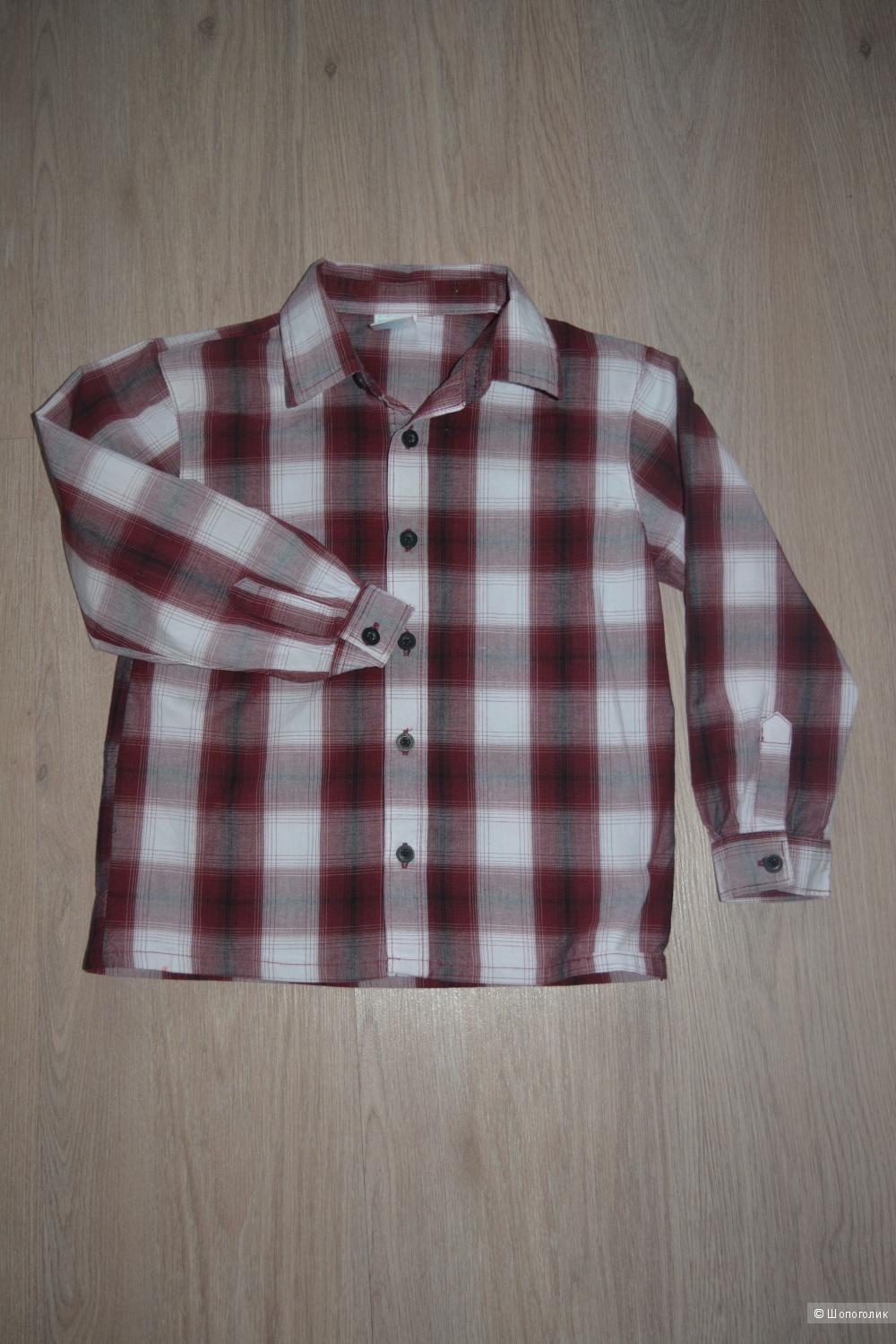 Рубашка для мальчика, 104-110