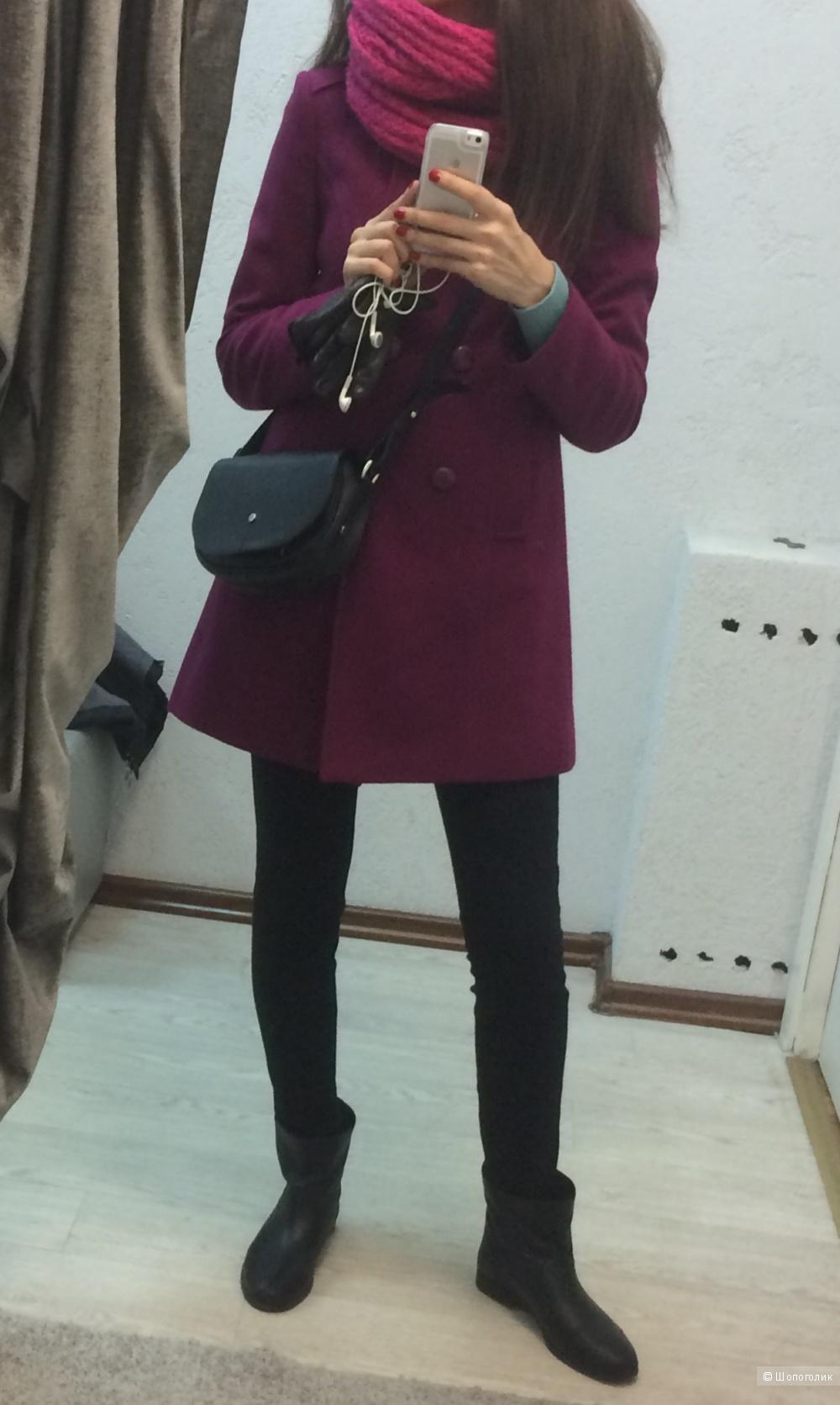 Шерстяное пальто mexx